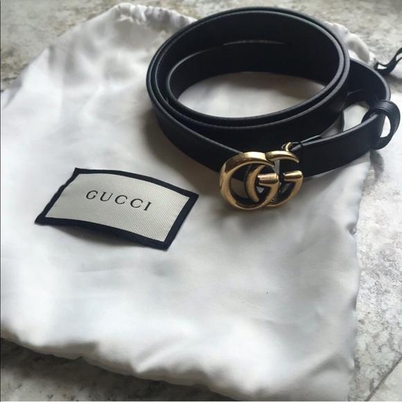 bb26c6b2f4f8 Gucci Accessories | Authentic Marmont Belt Size 90 | Poshmark